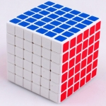 Shengshou 6x6 white with mat stickers