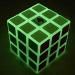 Cube4you 3x3x3 luminous green