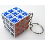 3cm keychain cube(smile faces)
