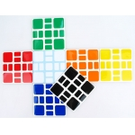 (SSW+B)Z-Stickers for Witeden 3x3 Mixup Plus cube