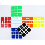 (HBW+B)Z-Stickers for Witeden 3x3 Mixup Plus cube