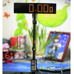 Z-Display for speed-cubing timing (yellow fonts)