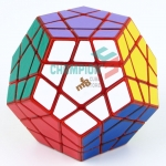 MF8 9cm big Megaminx transparent red