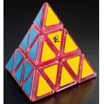DaYan Pyraminx puzzle transparent pink(Limited Edition)