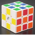 Cyclone Boy Cube mini 3x3x3 white with thermal transfer