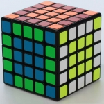 YuXin kylin cube 5x5x5 black for speed-solving