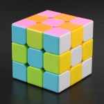 FanXin Lingshuang cube 3x3x3 Stickerless Pink