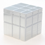 ShengShou Mirror Cube white with silver stickers