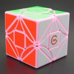 Funs LimCube Cut-Version Dreidel 3x3x3 pink limited edition