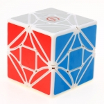 Funs LimCube Cut-Version Dreidel 3x3x3 white