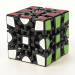 Z-Cube Gear 3x3x3 V2 black with carbon-fibre stickers