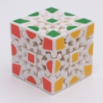 Z-Cube Gear 3x3x3 V1 white with thermal transfer