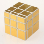 YuXin Mirror Cube white with golden wire-drawing stickers