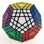 Shengshou Gigaminx Cube Puzzle black for pre-order