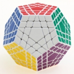 Shengshou Gigaminx Cube Puzzle white for pre-order