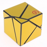 Funs LimCube 2x2 Ghost Cube golden