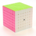 MoYu 7x7x7 Aofu GT Pink Stickerless