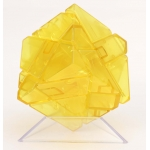 Ninja 3x3 Ghost Cube transparent yellow