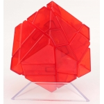 Ninja 3x3 Ghost Cube transparent red