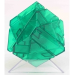 Ninja 3x3 Ghost Cube transparent green