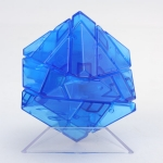 Ninja 3x3 Ghost Cube transparent blue