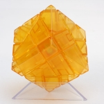 Ninja 3x3 Ghost Cube transparent orange