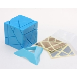 Nanja 3x3 Ghost Cube blue(unstickerd)