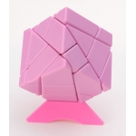 Nanja 3x3 Ghost Cube pink(unstickered)