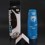 YJ Speed Flying Cups with box Graffiti Blue