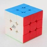 Guoguan YueXiao 3x3x3 Speed Cube Stickerless