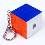 Type C mini 3x3x3 stickerless version with keychain