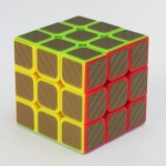 Z-Cube 3x3x3 with black carbon-fibre stickers