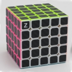 Z-Cube5x5x5 with black carbon-fibre stickers