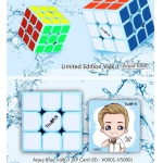 QiYi Valk 3x3x3 Aqua Blue Limited Edition