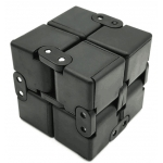 Infinity cube black new fidget toy 4*4*4cm