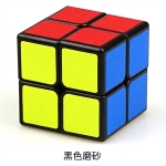 ShengShou 2x2x2 Legend with matt stickers black