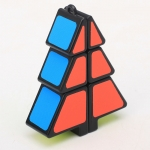 Z-Cube Christmas Tree Cube Black